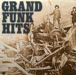 Grand Funk Railroad poster: Grand Funk Hits clothesline album flat