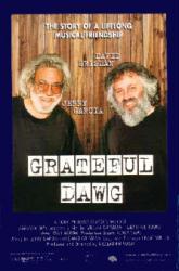 Grateful Dawg movie poster [Jerry Garcia documentary] original 27x40