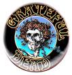 Grateful Dead magnet: Skeleton (1 1/4'' Button Magnet)