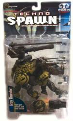 Spawn Series 15 [Techno Spawn] Gray Thunder action figure (McFarlane)