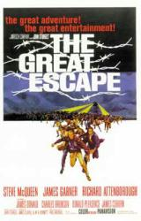 The Great Escape movie poster [Steve McQueen/James Garner] 27'' X 40''
