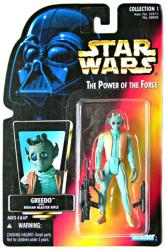Star Wars Power of the Force: Greedo action figure (Kenner/1995)