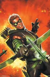Green Arrow poster: Explosion (22x34) DC Comics