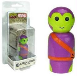 Marvel: Green Goblin Pin Mate #13 wooden figure (Bif Bang Pow)