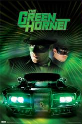 The Green Hornet movie poster [Seth Rogen, Jay Chou] 22x34