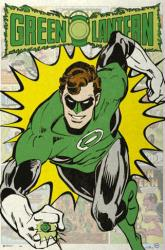 Green Lantern poster: Retro (24x36) DC Comics