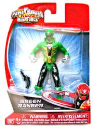 Power Rangers Super MegaForce: Green Ranger action figure (Bandai)