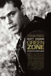 Green Zone movie poster [Matt Damon] a Paul Greengrass film