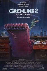Gremlins 2: The New Batch movie poster (1990) original 27x40