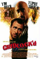 Gridlock'd movie poster [Tim Roth, Tupac Shakur, Thandie Newton] 27x40