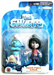 The Smurfs: Grouchy & Vexy figures (JAKKS Pacific/2013)