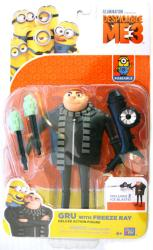 Despicable Me 3: Gru with Freeze Ray Deluxe action figure (Thinkway)