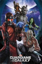 Guardians of the Galaxy movie poster: Group (22x34) 2014 film