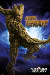 Guardians of the Galaxy movie poster: I Am Groot (24x36)