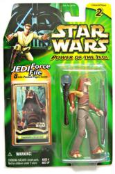 Star Wars Power of the Jedi: Gungan Warrior figure (Hasbro/2000)