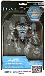 HALO Mega Bloks: UNSC Active-Camo Spartan figure (MEGA/2010) 26 pcs