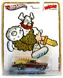 Hot Wheels Pop Culture: Hagar the Horrible 56 Chevy Nomad 1:64 diecast