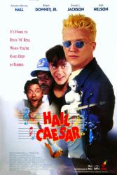 Hail Caesar movie poster [Anthony Michael Hall & Robert Downey Jr.]