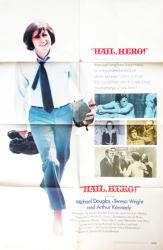 Hail, Hero! movie poster [Michael Douglas] 1969 original 27x41