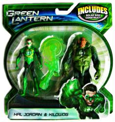 Green Lantern [Movie] Hal Jordan & Kilowog figures (Mattel/2011)