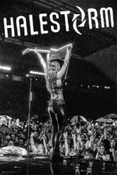 Halestorm poster: Lzzy Hale (24x36) Rock Band
