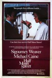 Half Moon Street movie poster [Sigourney Weaver & Michael Caine] 1986