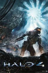 Halo 4 video game poster (22 1/2'' X 34'') Key Art