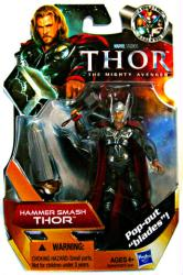 Thor: Hammer Smash Thor action figure (Hasbro/2010)