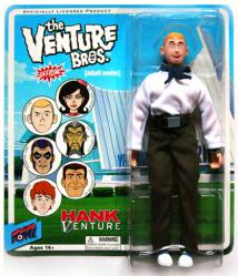 "The Venture Bros: Hank Venture 8"" action figure (Bif Bang Pow/2011)"