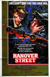 Hanover Street movie poster [Harrison Ford] original 27x40