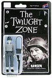 "The Twilight Zone: Hansen 4"" action figure (Bif Bang Pow) B&W"
