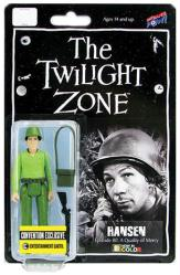 The Twilight Zone: Hansen 3 3/4'' action figure (Color)