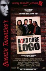 Hard Core Logo movie poster (1996) 26x40 video poster NM