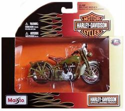 Harley-Davidson 1:18 1928 JDH Twin Cam die-cast vehicle (Maisto)