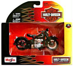 Harley-Davidson 1:18 1948 FL Panhead die-cast vehicle (Maisto)