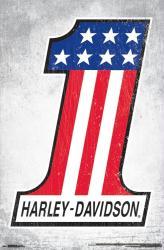 Harley-Davidson Motorcycles poster: #1 (22x34)