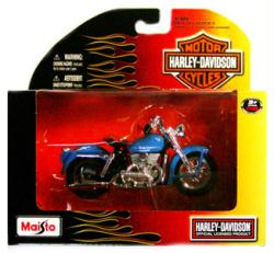 Harley-Davidson 1:18 1952 K Model diecast vehicle (Maisto)