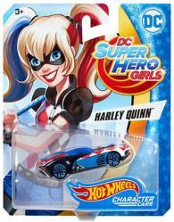 Hot Wheels Character Cars: DC Super Hero Girls Harley Quinn die-cast