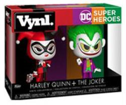 "DC Super Heroes: Harley Quinn + The Joker 4 1/2"" Vynl figures (Funko)"