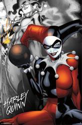 Harley Quinn poster: DC Comics (22x34) New