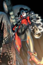 Harley Quinn poster: Smoking Gun (22x34) DC Comics