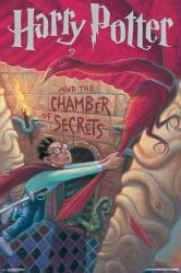 Harry Potter and the Chamber of Secrets poster: Book Cover (24x36)