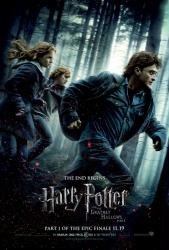 Harry Potter and the Deathly Hallows Part 1 movie poster (27x40)
