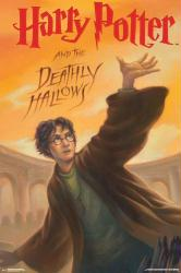 Harry Potter and the Deathly Hallows poster: Book Cover (24x36)