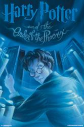 Harry Potter and the Order of the Phoenix poster: Book Cover (24x36)