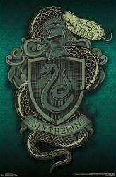 Harry Potter poster: Slytherin Snake Coat of Arms/Crest (22x34)