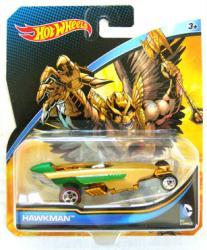 Hot Wheels Character Cars: DC Comics Hawkman die-cast vehicle