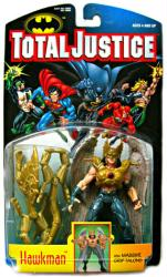 Total Justice: Hawkman with Massive Grip Talons figure (Kenner/1996)