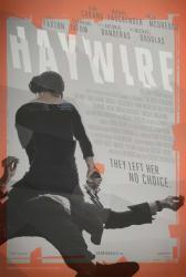 Haywire movie poster [a Steven Soderbergh film] original 27'' X 40''