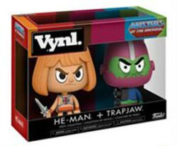 Masters of the Universe: He-Man + Trap Jaw Vynl figures (Funko)